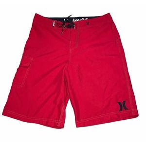 HURLEY Red Board Shorts - 30